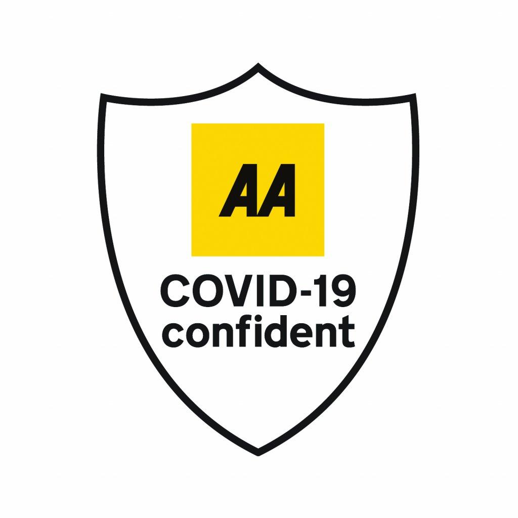 AA Covid-19 Confident Logo